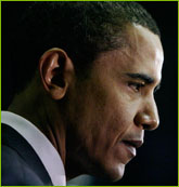 Barack in Pensive Mood