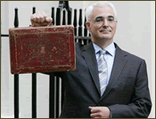 Alistair Darling Rides Again
