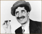 Groucho with Cigar