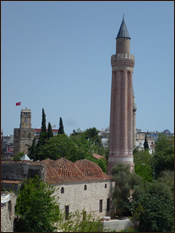 A View of Old Antalya
