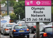 Olympic Traffic Signs