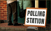 A British Polling Station